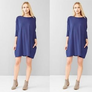 GAP Dresses - Gap T-Shirt Tunic Dress in Dutch Blue, XS!